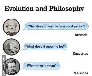 Ewolucja filozofii