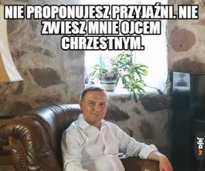 Prezydent Chrzestny