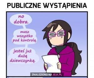 Cała prawda o publicznych wystąpieniach