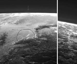 Chmury na Plutonie?