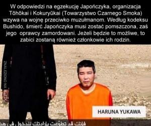 ISIS zadarło z Japońskim Czarnym Smokiem