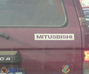 Tanie podróbki - Mitusbishi