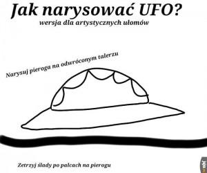 Jak narysować UFO?