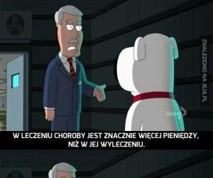 Family Guy rozwalił mi mózg