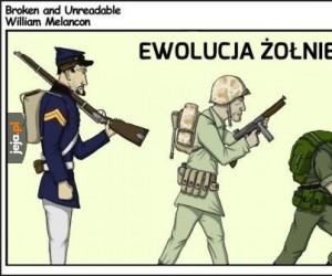 Ewolucja żołnierza Marines