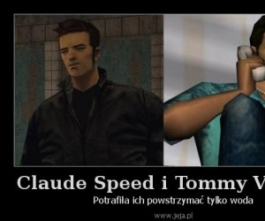 Claude Speed i Tommy Vercetti