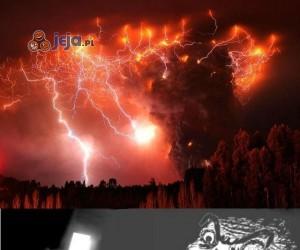 Wulkaniczna burza
