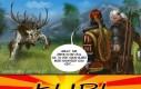 Geralt i jego wiedźmińskie znaki