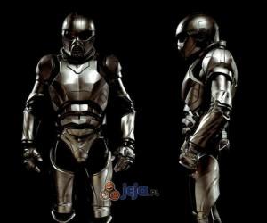 Przyszłość sztuk walki - zaawansowany technologicznie pancerz