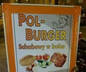 Prawdziwy polski burger