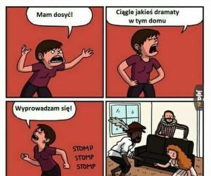 Domowe dramaty