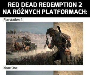 RDR2 na różnych platformach