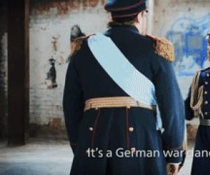 Niemiecki taniec wojenny
