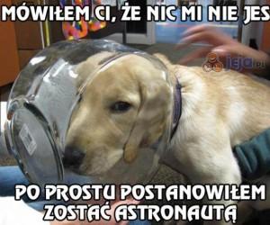 Postanowiłem zostać astronautą
