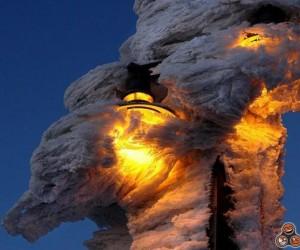 Zamarznięte lampy czy pożar?
