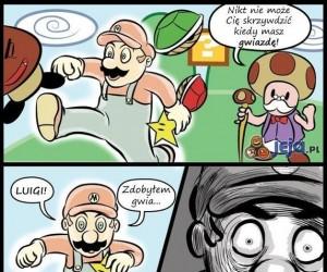 Skrzywdzony Mario