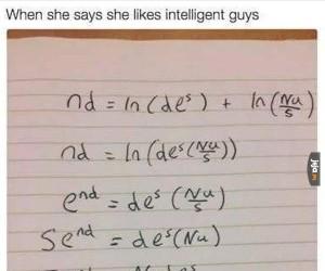 Kiedy ona powie, że lubi inteligentnych facetów