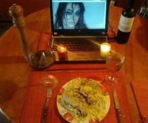 Romantyczny wieczór