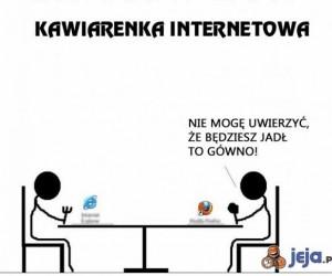 Kawiarenka internetowa dosłownie