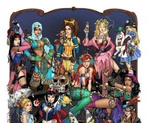 Post-apokaliptyczne bohaterki Disneya