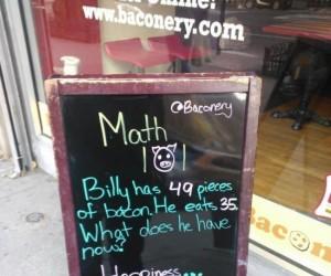 Bekon dla matematyków
