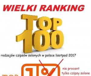 Top 100 chipsów solonych