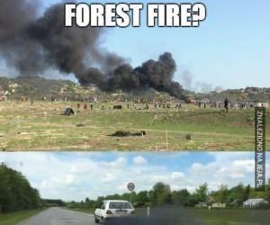 Pożar?