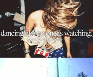 Tańcowanie, gdy nikt nie patrzy