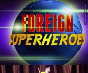 Zagraniczni superbohaterowie