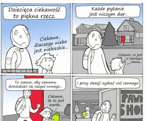 Dziecięca ciekawość