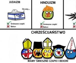 Chrześcijaństwo górą