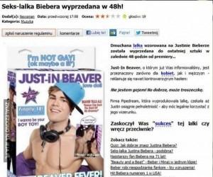 Lalka Biebera