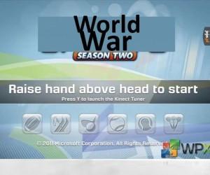 Komenda z Kinecta: Podnieś rękę nad głowę, aby zacząć