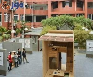 Student w Chinach stworzył dom o powierzchni 7 metrów kwadratowych
