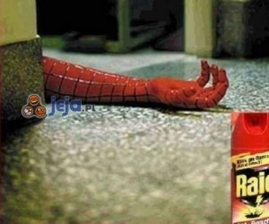 Skuteczna broń na Spidermana