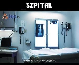Szpital - tam pewne rzeczy brzmią inaczej