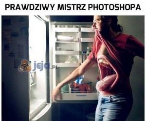 Prawdziwy mistrz photoshopa