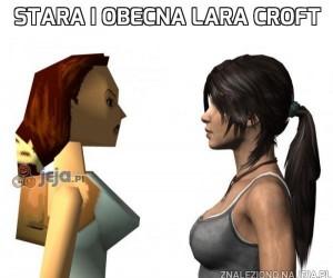 Stara i obecna Lara Croft