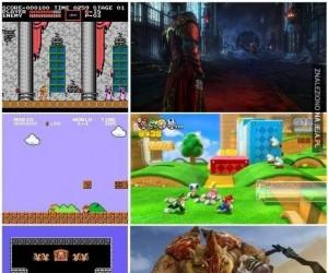 Znane serie gier - na początku i dzisiaj