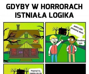 Logika w horrorach