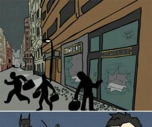 Batman nie zabija, Batman zamienia życie w pasmo cierpień