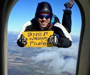Miłego lotu frajerzy!
