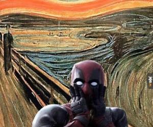 Krzyk Deadpoola