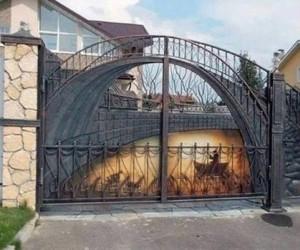 Gdy bramę robi artysta
