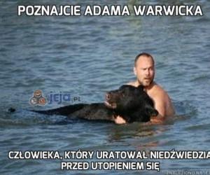 Poznajcie Adama Warwicka