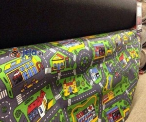 Żona wysłała mnie po nowy dywan