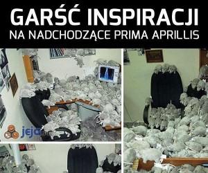 Kilka inspiracji na Prima Aprillis