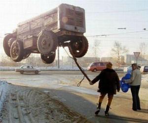 Takie tam, w Rosji