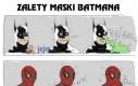 Zalety maski Batmana