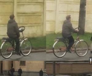 To się nazywa tuning roweru
